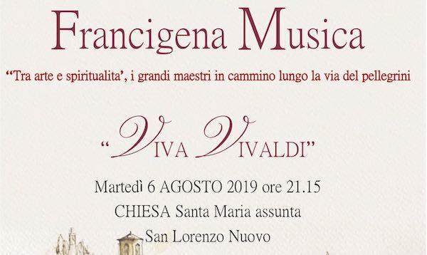 """""""Viva Vivaldi"""". Concerto nella Chiesa di Santa Maria Assunta"""