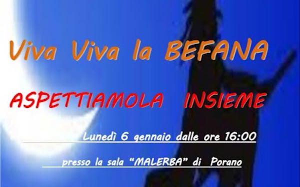 """""""Viva Viva la Befana"""". Alla Sala Malerba si festeggia l'Epifania"""