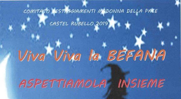 """""""Viva Viva la Befana. Aspettiamola insieme"""" alla Sala Malerba"""