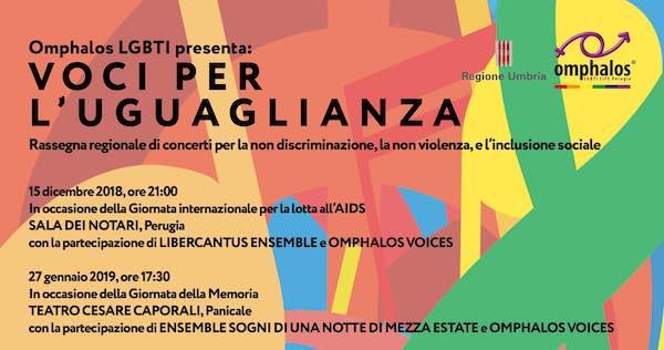 """""""Voci per l'Uguaglianza"""", la musica per i diritti umani"""