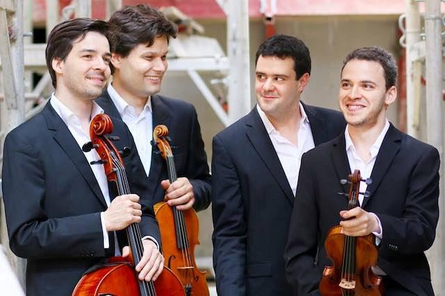 """Al Boni il quartetto d'archi """"Les Voix Concertantes"""" con il soprano Manon Bautian"""