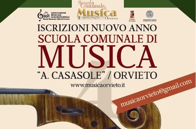 Nuovo anno scolastico per la Scuola Comunale di Musica di Orvieto