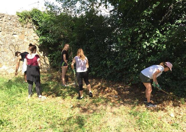"""""""RispettiAmo Caprarola"""", una mattinata per pulire le aree verdi del paese"""