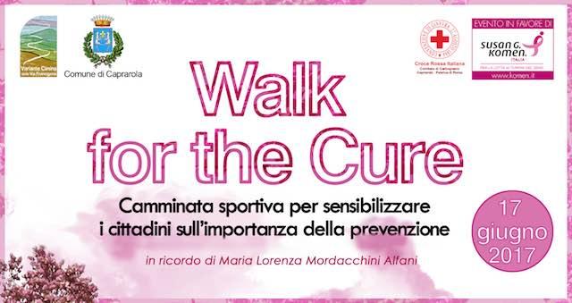 """""""Walk for the Cure"""". Caprarola in marcia contro i tumori al seno nella Riserva Naturale Lago di Vico"""