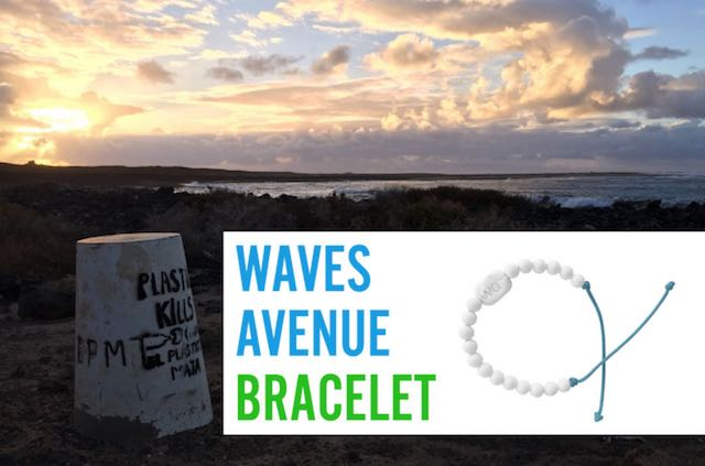 """Nasce """"Waves Avenue Bracelet"""", il braccialetto ecologico di chi ama il mare"""