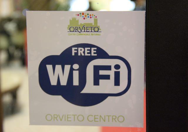 """Segnale """"Orvieto Centro Free"""" anche in Piazza Duomo"""