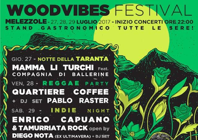 """Al via la prima edizione del """"Woodvibes Festival"""" di Melezzole"""