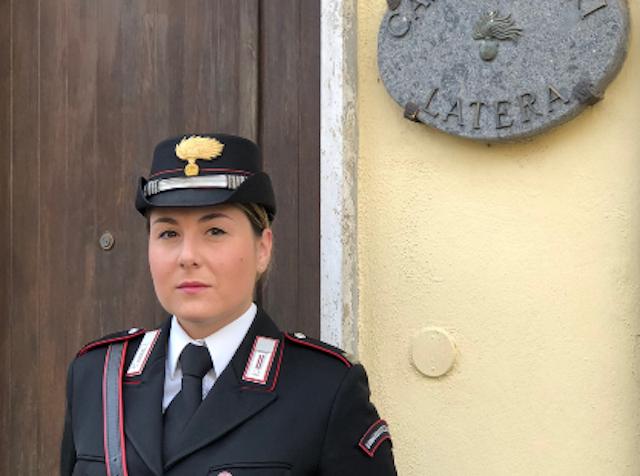 Ylenia Cirilli, prima donna al comando di una stazione carabinieri della Tuscia