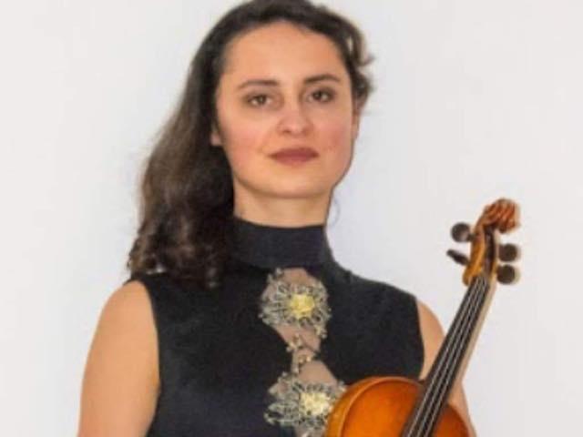 Al Palazzo Vescovile risuona il violino di Yuliia Vasylcova