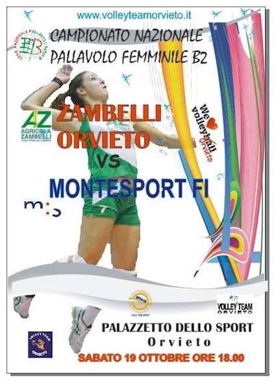 La Zambelli Orvieto al debutto contro la Montesport Fi