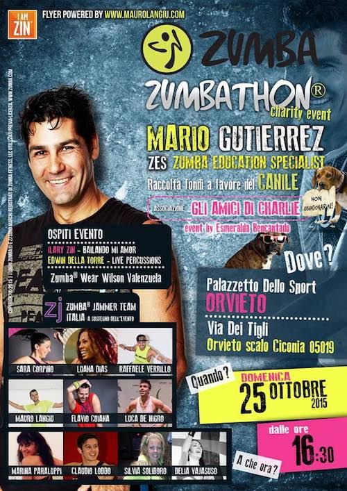 Zumba Fitness al Palazzetto dello Sport, raccolta fondi a sostegno del canile